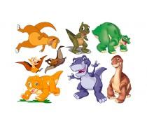 Динозавры 7