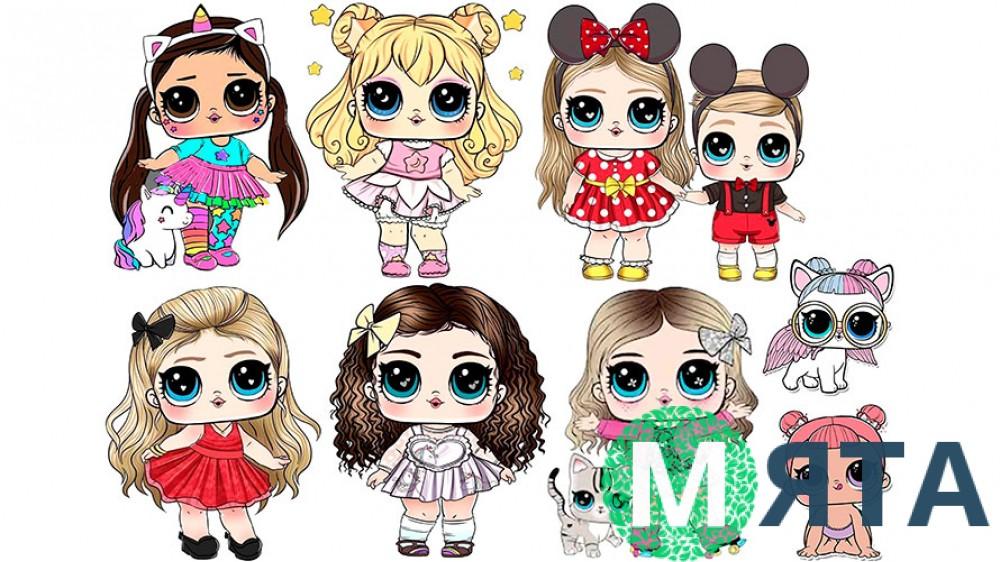 Куклы Лол 25