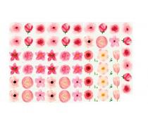 """Съедобная картинка """"Цветы"""" 20"""