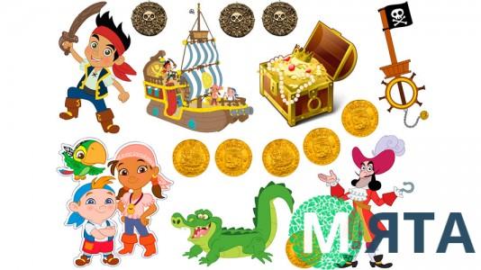 Джейк и пираты 8