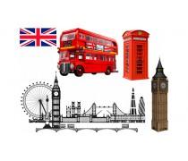 Съедобная картинка Лондон
