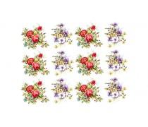 """Съедобная картинка """"Цветы"""" 21"""