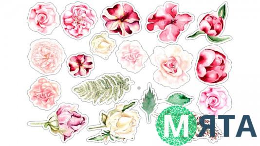 Съедобная картинка Цветы 22