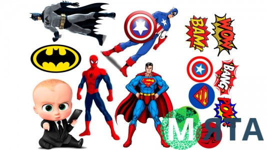 Супергерои +поп арт 2