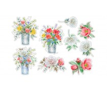 """Съедобная картинка """"Цветы"""" 24"""