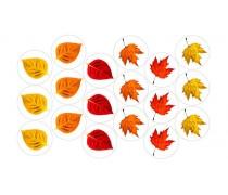 Съедобная картинка Осенний лист 2