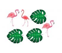 Съедобная картинка с Фламинго 4