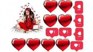 Девушка в красном 2
