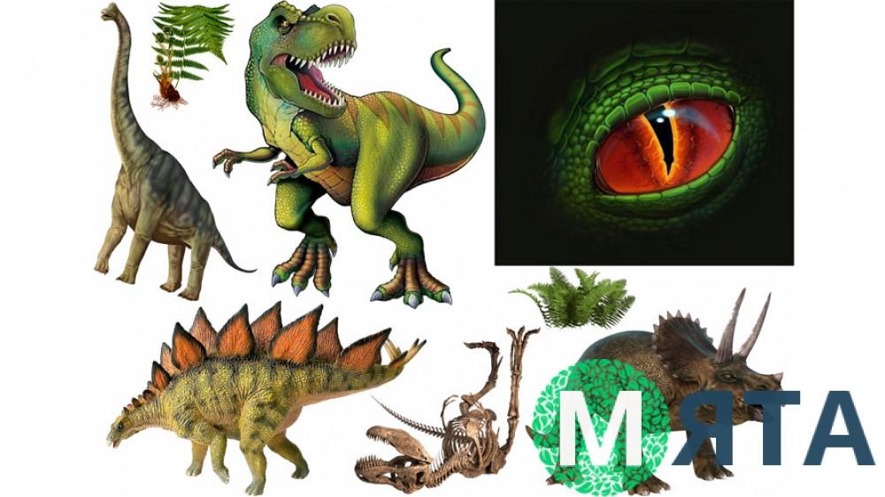 Динозавры 10