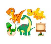 Динозавры 11