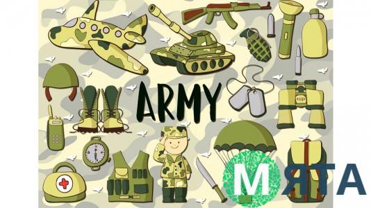 Съедобная картинка Армия