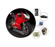 Съедобная картинка Мотоцикл