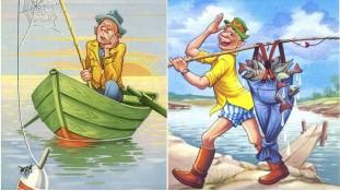 Съедобная картинка Рыбак