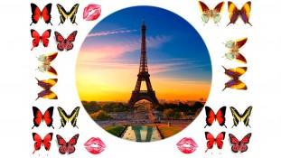 """Съедобная картинка """"Париж"""""""