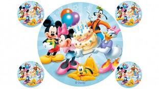 Съедобная картинка Персонажи Disney