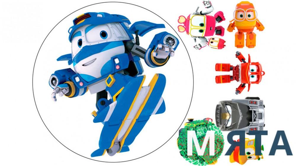 Роботы-поезда 4