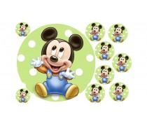 """Съедобная картинка """"Микки Маус"""" 2"""