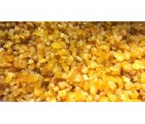 Цукаты апельсина, кусочки в сиропе 3х3мм, 150 грамм