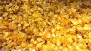 Цукаты апельсина, кусочки в сиропе, 150 грамм