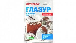 Белковая глазурь для паски Украса