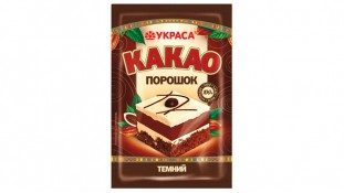 Какао порошок темный Украса