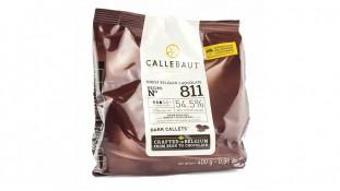 Шоколад темный Callebaut 811. 400грамм