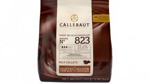 Шоколад молочный Callebaut 823. 400грамм