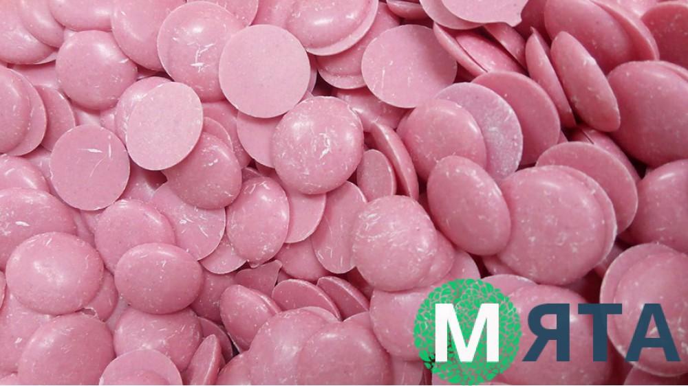 Глазурь кондитерская розовая, (zip pack)