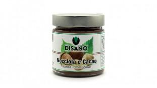 Крем паста с какао и фундуком 15%  Disano, 200гр