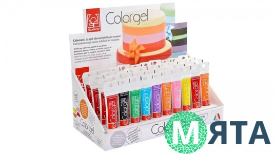 Красители гелевые Modecor, 20 грамм