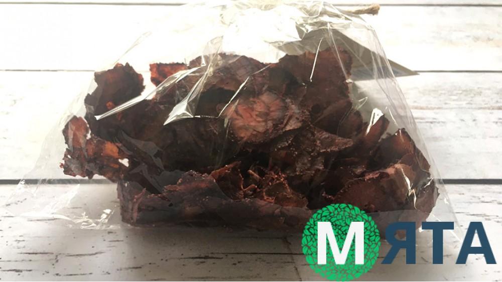 Клубничные чипсы, 50 грамм