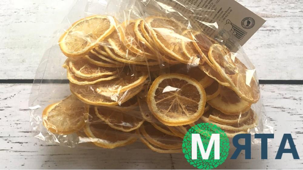 Лимонные чипсы, 50 грамм