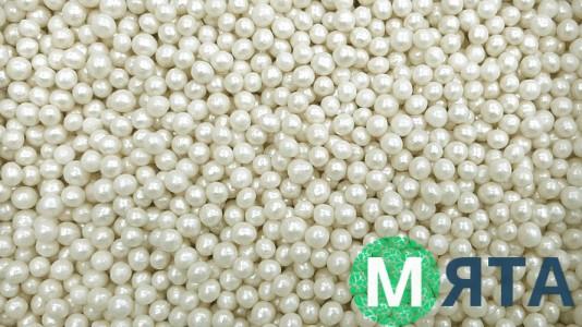 Мягкие сахарные шарики, Белые