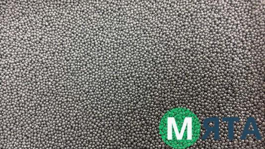 Мягкие сахарные шарики МИНИ, Серебряные