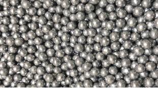 Мягкие сахарные шарики, Серебряные