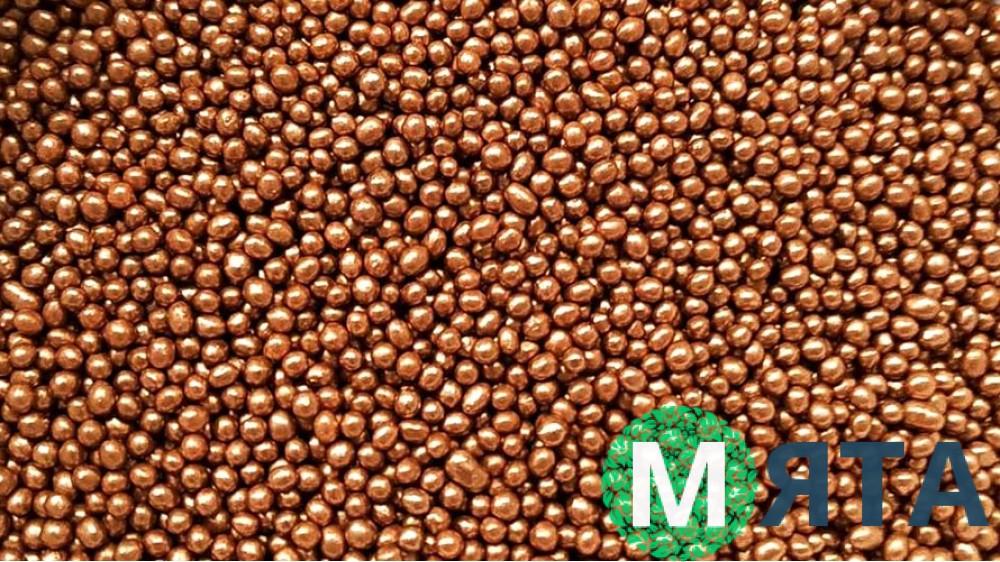 Рисовые шарики, бронзовые