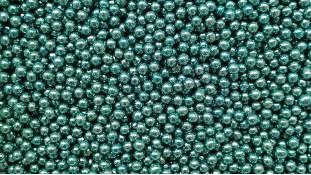 Сахарные шарики, голубые 5мм