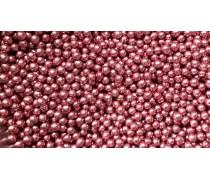 Сахарные шарики, розовые 5мм