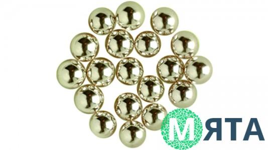 Сахарные шарики, серебряные 2-7 мм