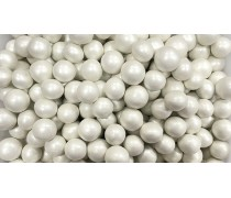 Воздушные шарики в шоколаде, Белые