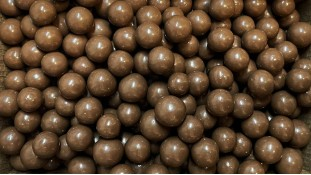 Воздушные шарики в шоколаде, Молочные