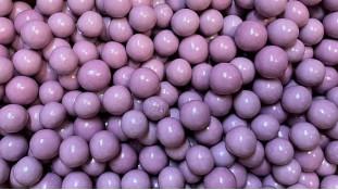 Воздушные шарики в шоколаде, Сиреневые