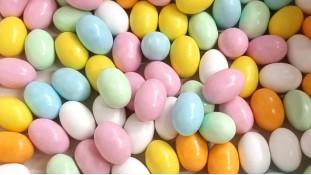 Драже Яйца шоколадные OVETTI с начинкой, 6 шт