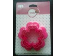 Двухсторонние формы для печенья и пряников Цветок