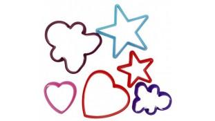 Формы для печенья. Человечек, звезда, сердце
