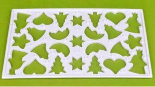 Лист-форма для печенья Новый Год