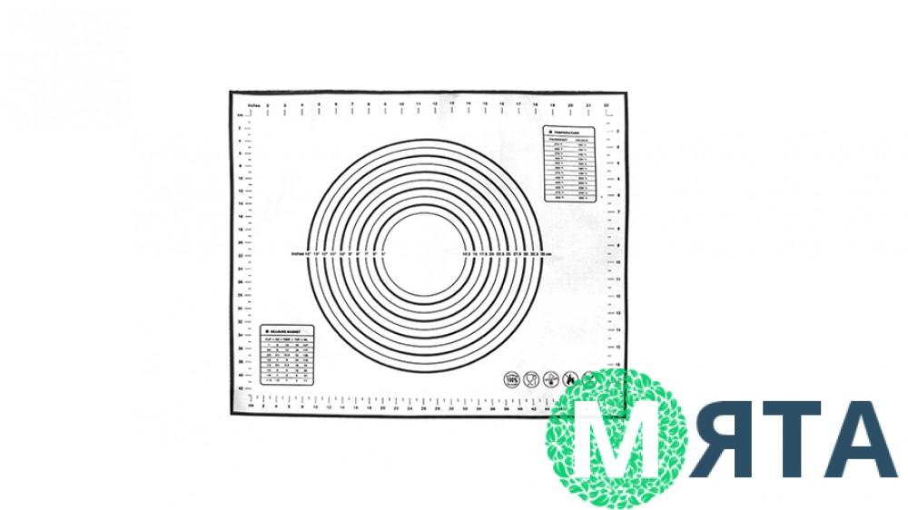 Силиконовый коврик армированный 30х40 см