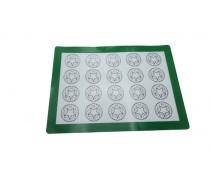 Силиконовый коврик усиленный с разметкой, 30х40 см
