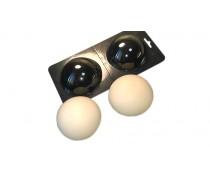 Молд для шоколада и мастики 3Д-полусферы