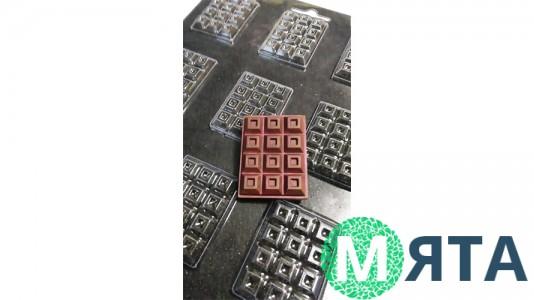 Молд для шоколада и мастики Шоколад микро №41